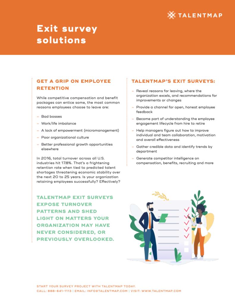 exit survey solutions