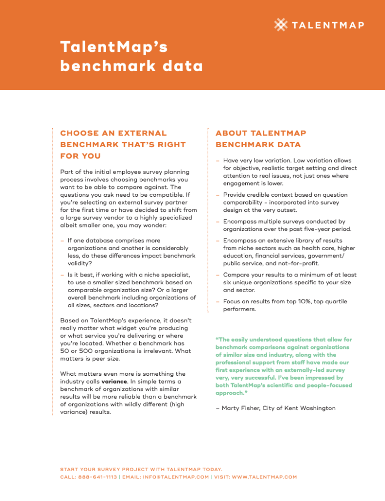 talentmap benchmark data