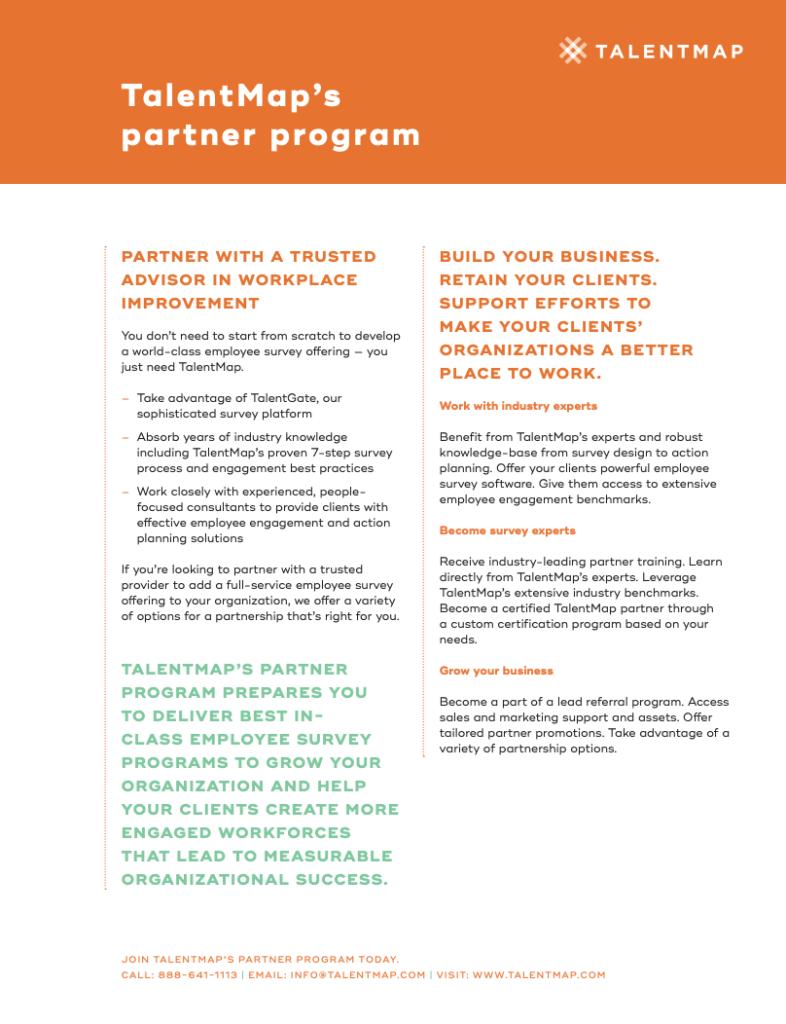 talentmap partner program