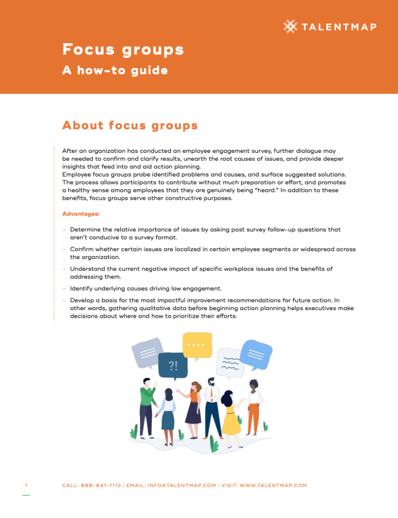 focus groups guide